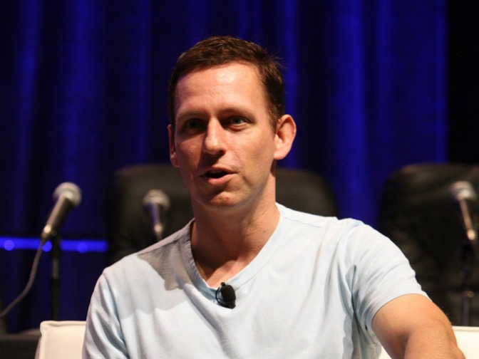 "Facebook Investor Peter Thiel Calls Technology A ""Scapegoat"" For Inequality"