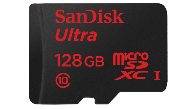 SanDisk Packs 128GB Into A MicroSD Card