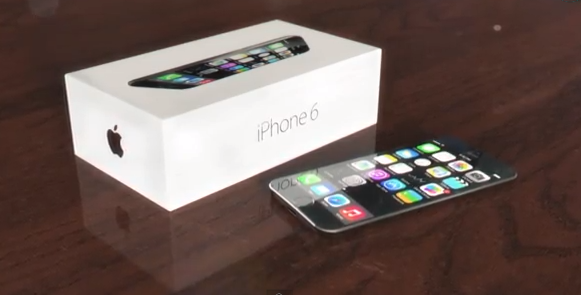 Here's What An iPhone 6 With A Curved Display Might Look Like