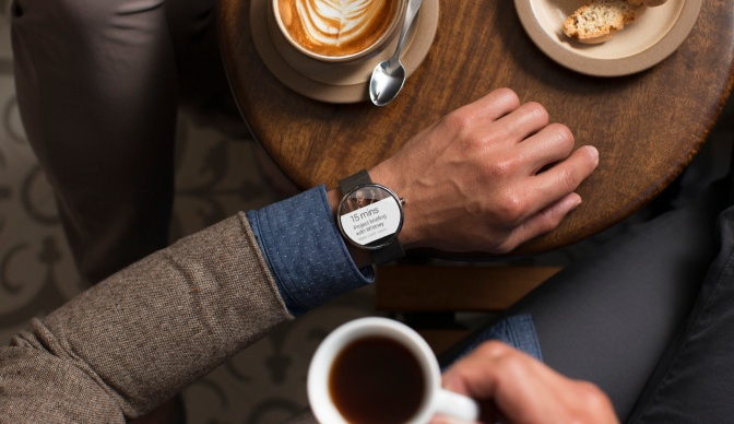 Motorola Introduces The Moto 360, Its First Smartwatch Based On Google's Android Wear
