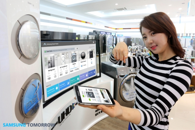 Samsung launches its smart home efforts for the home that only has Samsung